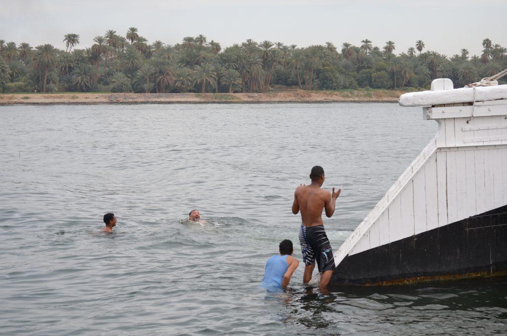 Egypte Aventure baignade