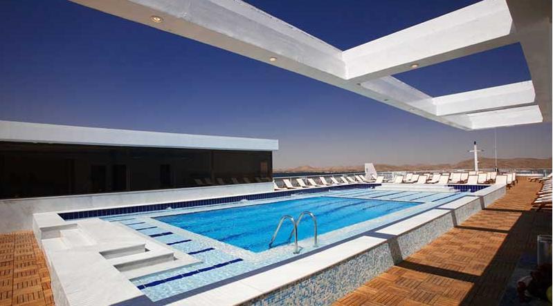Lake Cruise Omar El Khayam pool