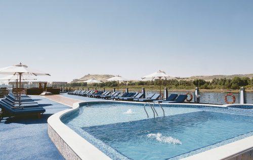 Princess Sarah Nile Cruise pool