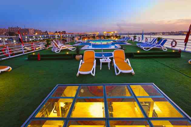 MS Al Hambra Nile Cruise sun