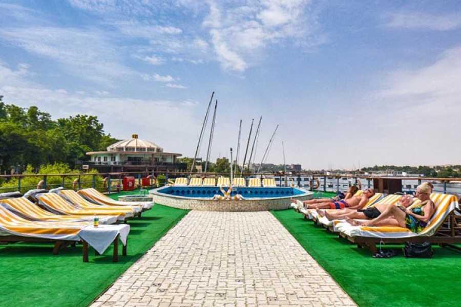 Princess Sarah II Nile Cruise pool