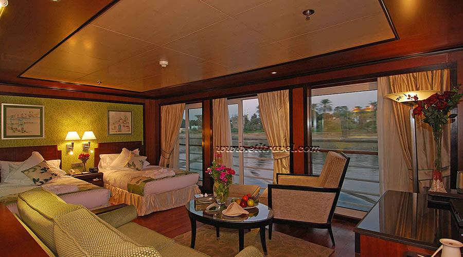 amarco-ii-nile-cruise-executive-suite-twin-beds